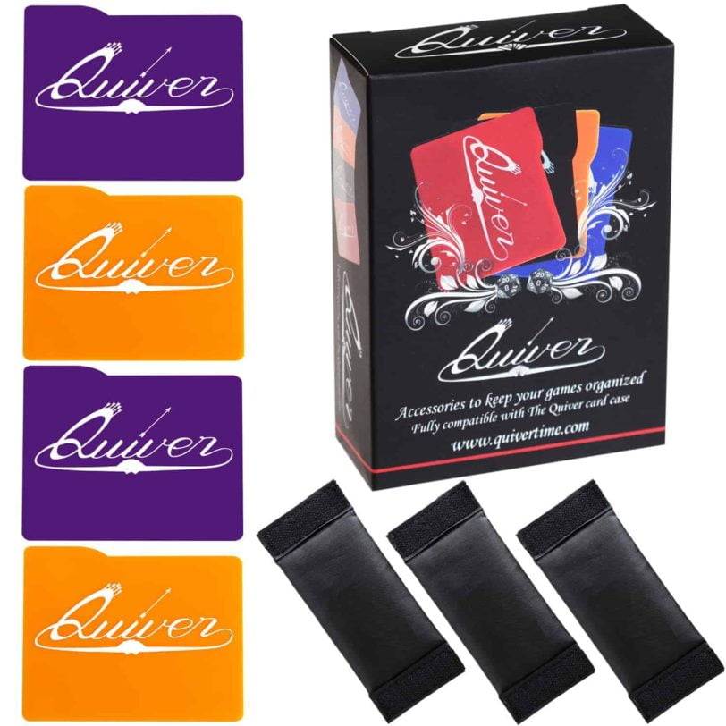 Purple and Orange - Card Case Dividers and Separators