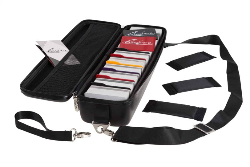 Red & Black - Quiver Playing Card Case Cards Setup