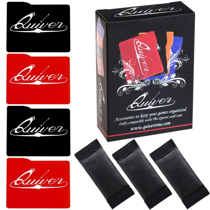 Red and Black - Card Case Dividers