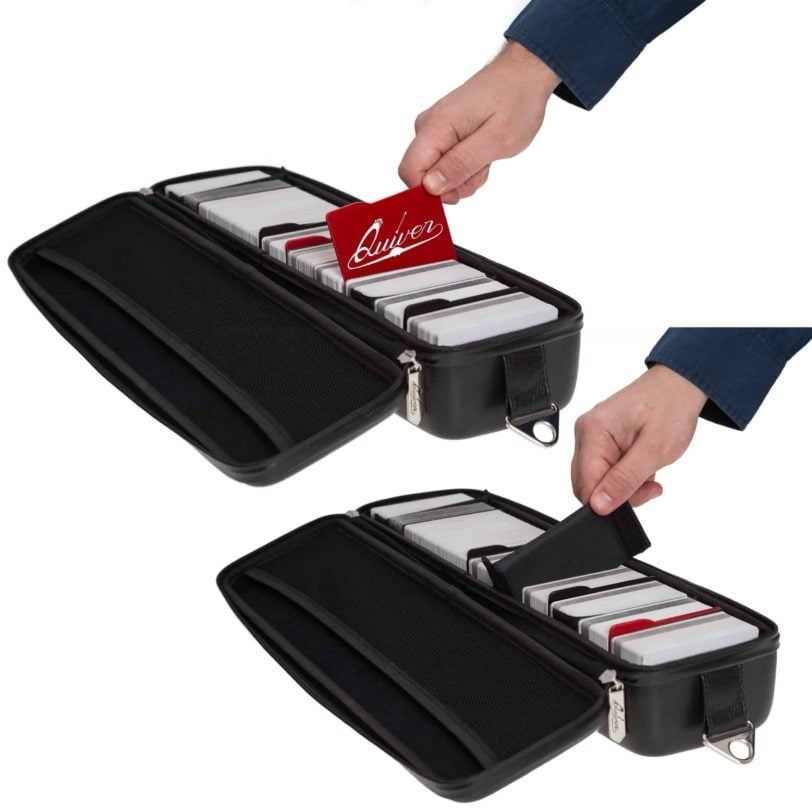 Red and Black - Fully compatible with the Quiver Playing Card Case