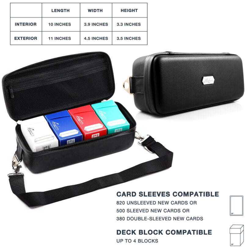 Bolt Card Case - Dimensions and Capacity
