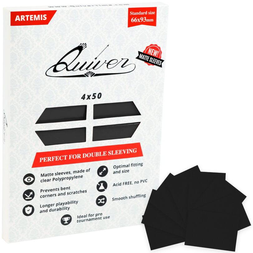 Black Matte Card Sleeves
